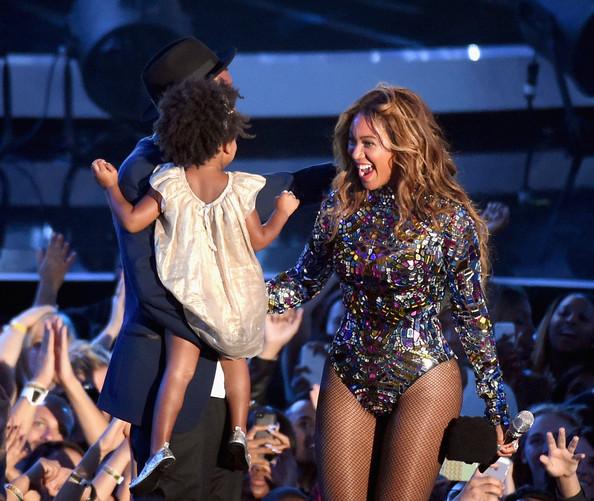 Blue Ivy Carter And Beyonce