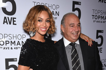 Beyonce Knowles Topman New York City Flagship Opening Dinner