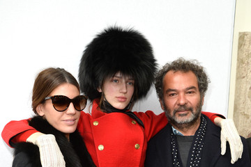 Bianca Brandolini Front Row at Moncler Gamme Rouge