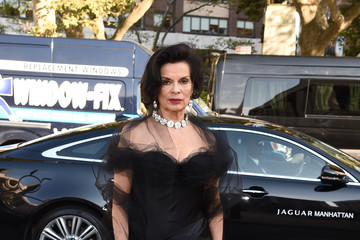 Bianca Jagger Jaguar Land Rover Manhattan Presents the Opening of the Metropolitan Opera's 'Tristan Und Isolde'