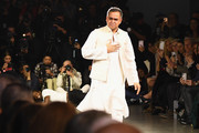 Designer Bibhu Mohapatra walks the runway for his show during New York Fashion Week: The Shows at Gallery II at Spring Studios on February 11, 2019 in New York City.