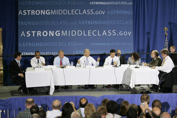Ed Montgomery Biden Travels To Ohio To Chair Middle Class Task Force Meeting