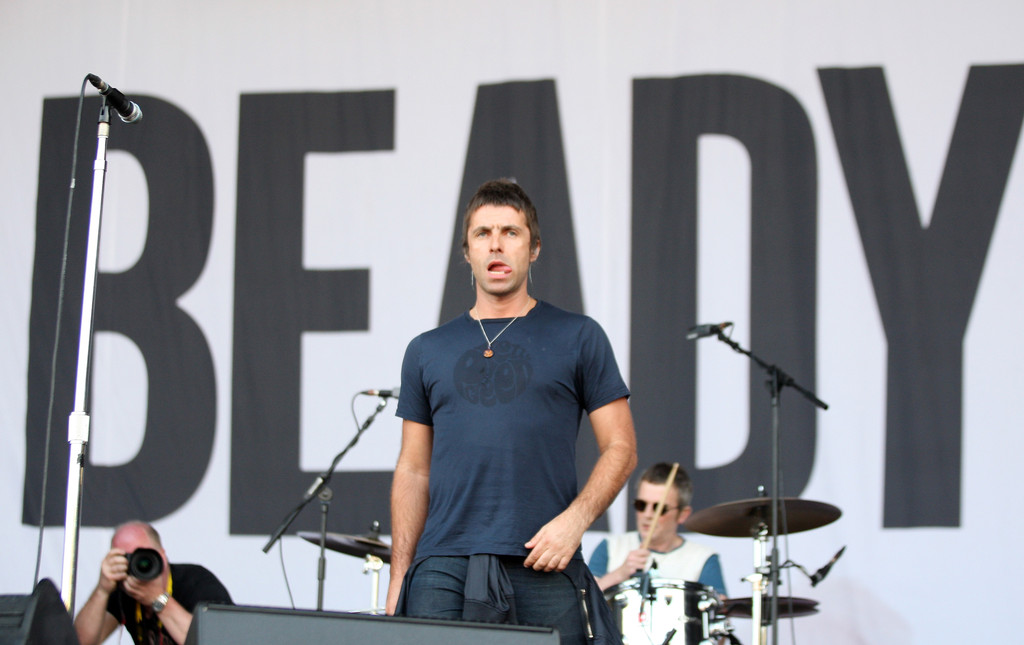 liam gallagher photos photos big day out festival held in auckland zimbio. Black Bedroom Furniture Sets. Home Design Ideas