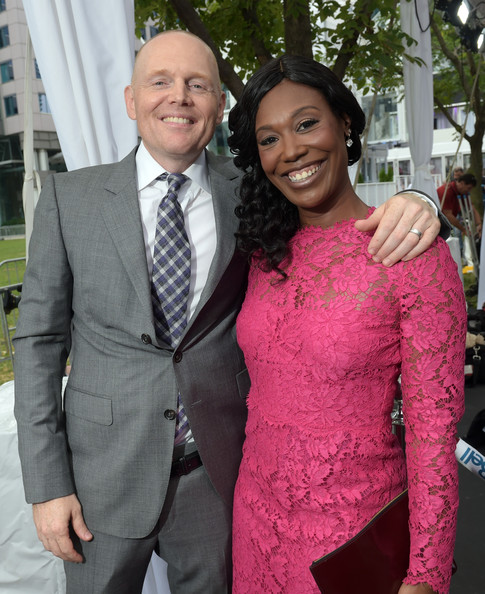 Bill Burr And Nia Renee Hill Photos Photos Quot Black And White Quot Premiere Red Carpet 2014