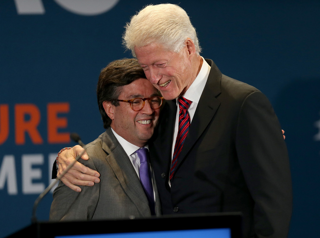 Clinton (MO) United States  City new picture : Luis Alberto Moreno Pictures Bill Clinton Hosts Future of the Americas ...