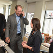 Bill Cowher Annual Charity Day Hosted By Cantor Fitzgerald, BGC and GFI - BGC Office - Inside