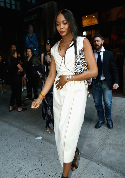 Bill Cunningham Memorial - Arrivals & Departures [bill cunningham memorial - arrivals departures,white,clothing,fashion model,fashion,street fashion,waist,shoulder,fashion design,leg,suit,bill cunningham memorial,carnegie hall,new york city,naomi campbell]