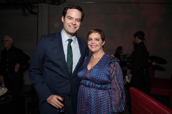 Premiere Of HBO's 'Barry' - After Party [event,fashion,suit,formal wear,design,smile,businessperson,white-collar worker,fashion design,barry,amy gravitt,bill hader,california,los angeles,hbo,party,premiere,party,premiere]