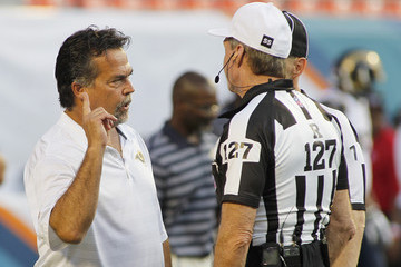 Bill Leavy St Louis Rams v Miami Dolphins