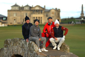 Bill Murray Alfred Dunhill Links Championship - Day One