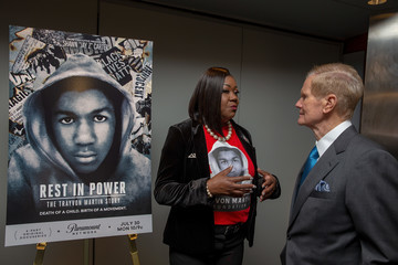Bill Nelson Guests Attend The 'Trayvon Martin: Rest In Power' Screening