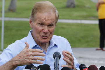 Bill Nelson Sen. Nelson (D-FL) Visits The Homestead Temporary Shelter For Unaccompanied Children