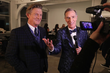 Bill Nye Inaugural Blue Jacket Fashion Show to Benefit Prostate Cancer Foundation - Front Row & Backstage