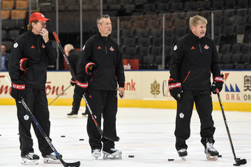 Bill Peters World Cup of Hockey 2016 - Practice Sessions