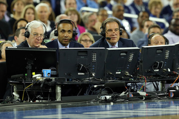 Bill Raftery NCAA Men's Final Four - Villanova v Oklahoma