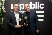 Co-founder, President, and CEO of Republic Records Avery Lipman and Co-founder and CEO of Republic Records Monte Lipman attend as Billboard celebrates Republic Records being named Label of the Year at Philippe Downtown on January 28, 2019 in New York City.