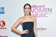 Louise Roe attends the Billboard Women in Music 2016 event on December 9, 2016 in New York City.