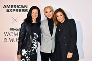 (L-R) Leslie Fram, Jacqueline Saturn, and Ali Harnell attend the Billboard x Amex Impact Brunch on December 12, 2019 at The West Hollywood EDITION in West Hollywood, California.