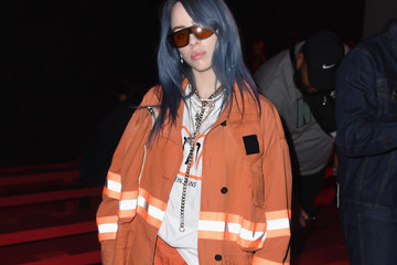 Billie Eilish Calvin Klein Collection - Front Row - September 2018 - New York Fashion Week
