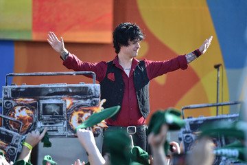 Billie Joe Armstrong Green Day Performs on ABC's 'Good Morning America'