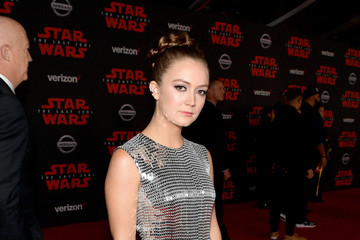 Billie Lourd Premiere of Disney Pictures and Lucasfilm's 'Star Wars: The Last Jedi' - Red Carpet