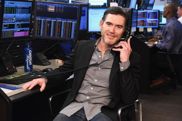 Billy Crudup Annual Charity Day Hosted By Cantor Fitzgerald, BGC and GFI - Cantor Fitzgerald Office - Inside