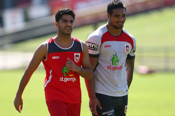 Billy Dib St George Illawarra Dragons Training Session