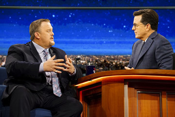 "Billy Gardell CBS's ""The Late Show with Stephen Colbert"" - Season Two"