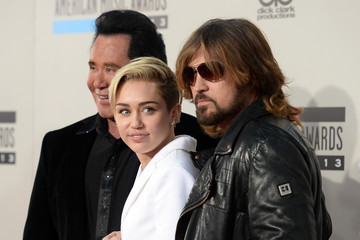 Billy Ray Cyrus Arrivals at the American Music Awards — Part 2