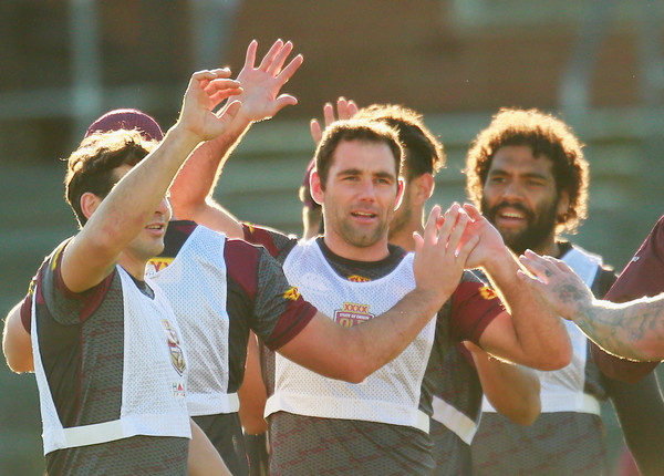 Queensland Maroons Training Session []