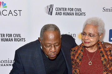 Billye Aaron Smithsonian Channel Premiere Screening of 'Major League Legends: Hank Aaron' And Celebration Of Hank Aaron's 82nd Birthday At The National Center For Civil And Human Rights