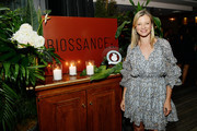 Amy Smart attends The Clean Academy launch event hosted by Biossance and Jonathan Van Ness at Harriet's Rooftop on November 05, 2019 in West Hollywood, California.