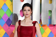 """Mary Elizabeth Winstead attends the """"Birds of Prey: And the Fantabulous Emancipation Of One Harley Quinn"""" World Premiere at the BFI IMAX on January 29, 2020 in London, England."""