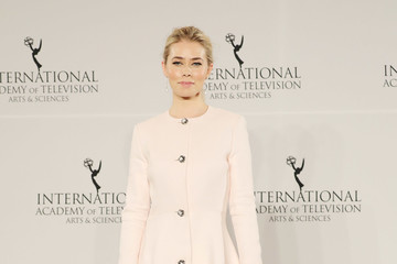 Birgitte Hjort Sorensen 44th International Emmy Awards - Press Room