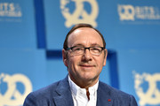Actor Kevin Spacey during the 'Bits & Pretzels Founders Festival' at ICM Munich on September 24, 2017 in Munich, Germany.