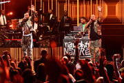 Treach, DJ Kay Gee, and Vin Rock of Naughty by Nature perform onstage during 2019 Black Music Honors at Cobb Energy Performing Arts Centre on September 05, 2019 in Atlanta, Georgia.