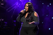 Singer Kelly Price performs onstage during 2019 Black Music Honors at Cobb Energy Performing Arts Centre on September 05, 2019 in Atlanta, Georgia.