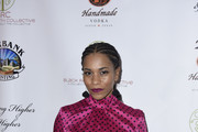 Kelly McCreary attends The Black Rebirth 1st Annual Fundraiser at Nate Holden Performing Arts Center on January 18, 2020 in Los Angeles, California.  (Photo by Vivien Killilea/Getty Images for The Black Rebirth Collective (BRC))