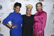 Kelly M. Jenrette, Kimberly Hebert Gregory and Kelly McCreary attend The Black Rebirth 1st Annual Fundraiser at Nate Holden Performing Arts Center on January 18, 2020 in Los Angeles, California.  (Photo by Vivien Killilea/Getty Images for The Black Rebirth Collective (BRC))