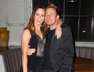 Emily Blunt Ewan McGregor BlackBerry Hosts Dinner And After-Party For Salmon Fishing In The Yemen At TIFF