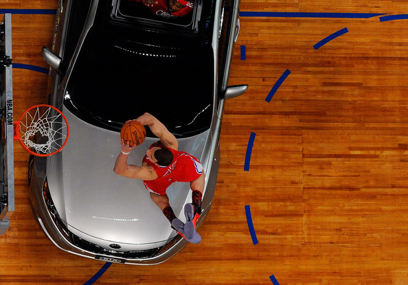 Blake Griffin Dunking Over Car. Blake Griffin Blake Griffin
