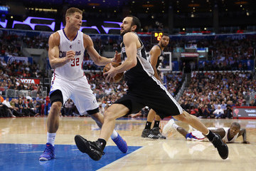 Blake Griffin San Antonio Spurs v Los Angeles Clippers