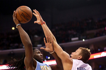 Blake Griffin Kenneth Faried Denver Nuggets v Los Angeles Clippers