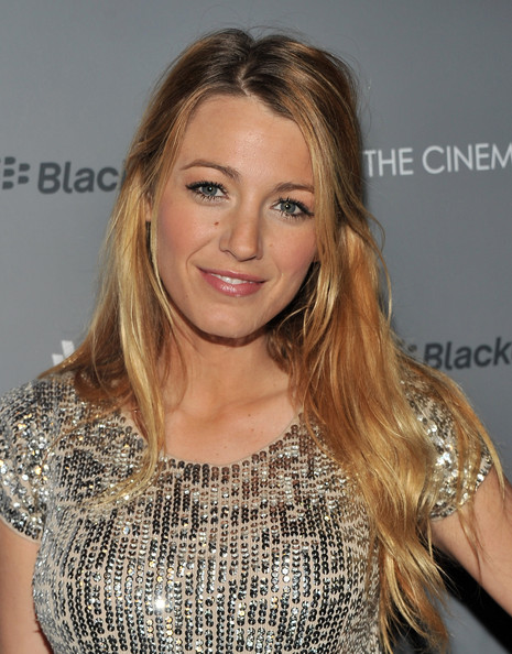 "Blake Lively - The Cinema Society & BlackBerry Bold Host A Screening Of ""Haywire"" - Arrivals"