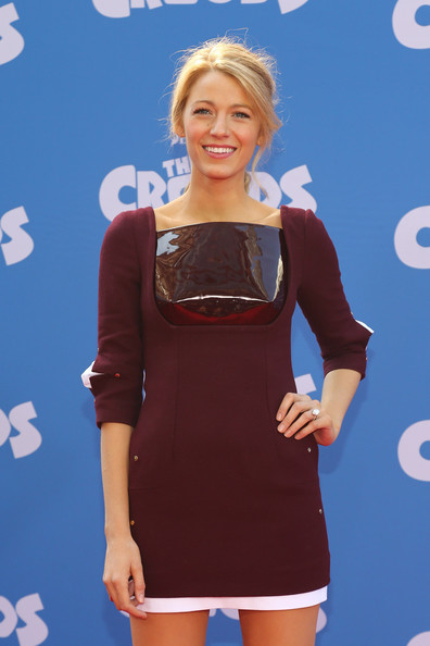 "Blake Lively - ""The Croods"" New York Premiere"