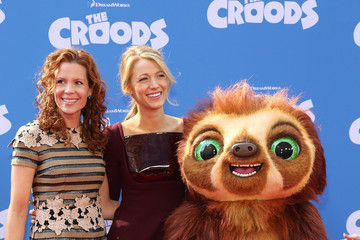 Blake Lively Robyn Lively 'The Croods' NYC Premiere 2