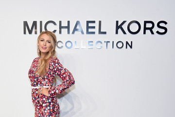 Blake Lively Michael Kors Collection Fall 2017 Runway Show - Front Row