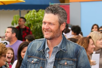 Blake Shelton Premiere of Sony Pictures' 'Angry Birds' - Arrivals
