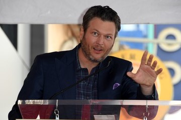 Blake Shelton Adam Levine Is Honored With a Star on the Hollywood Walk of Fame