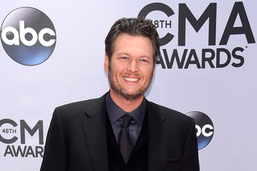 Blake Shelton Arrivals at the 48th Annual CMA Awards